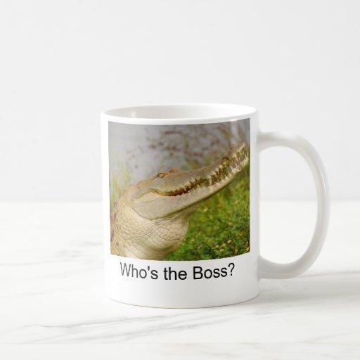 ¿Quién es Boss? Tazas