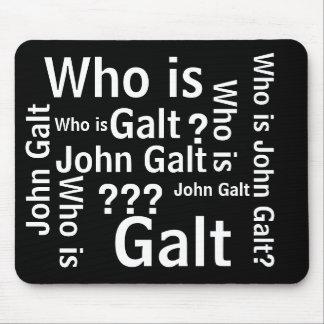 Quién es cojín de ratón de Juan Galt Alfombrillas De Raton