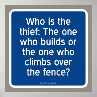 ¿Quién es el ladrón? Póster
