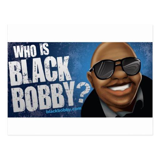Quién es engranaje negro de Bobby Postal