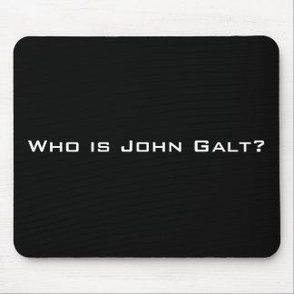 ¿Quién es Juan Galt? Alfombrilla De Ratones