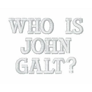 ¿Quién es Juan Galt? Camiseta Polo Bordada