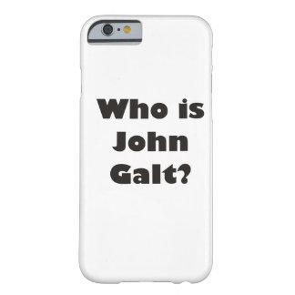 ¿Quién es Juan Galt? Funda Barely There iPhone 6