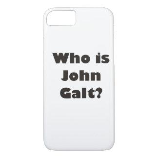 ¿Quién es Juan Galt? Funda iPhone 7