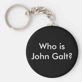 ¿Quién es Juan Galt? llavero