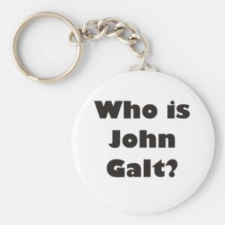 ¿Quién es Juan Galt? Llavero Redondo Tipo Pin