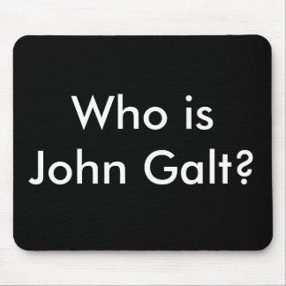 ¿Quién es Juan Galt? mousepad Alfombrillas De Raton