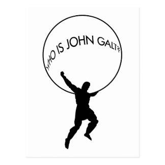 ¿Quién es Juan Galt? postal