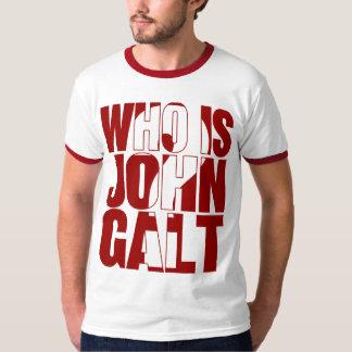 ¿Quién es Juan Galt? Rojo Playera