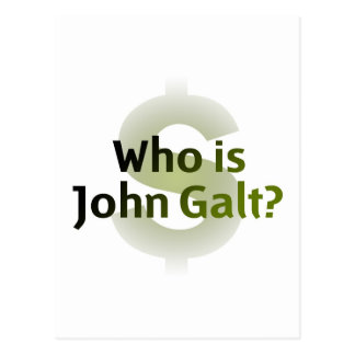 ¿Quién es Juan Galt? Símbolo del dinero Postal