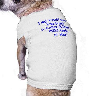 ¿Quién es malo???  El tanque del perrito Playera Sin Mangas Para Perro