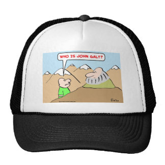 quién es objectivism del rand del ayn del galt de  gorras de camionero
