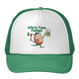 Quién es su irlandés del arroz gorras de camionero