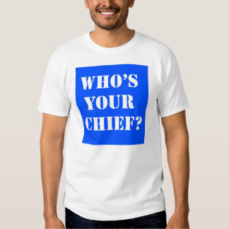 ¿Quién es su jefe? Camiseta Camisas