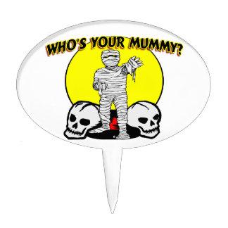 Quién es su momia decoraciones de tartas