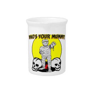Quién es su momia jarra para bebida