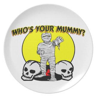 Quién es su momia platos de comidas