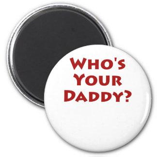 ¿Quién es su papá Imán De Nevera