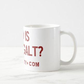 Quién es taza de la fiesta del té de Juan Galt
