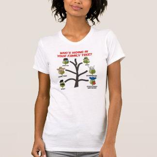 ¿Quién está ocultando en su árbol de familia? Camisas