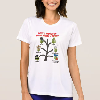 ¿Quién está ocultando en su árbol de familia? Playera