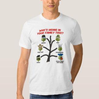 ¿Quién está ocultando en su árbol de familia? Polera