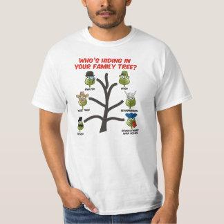 ¿Quién está ocultando en su árbol de familia? Poleras