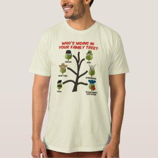 ¿Quién está ocultando en su árbol de familia? Remeras