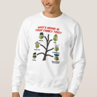 ¿Quién está ocultando en su árbol de familia? Sudaderas Encapuchadas