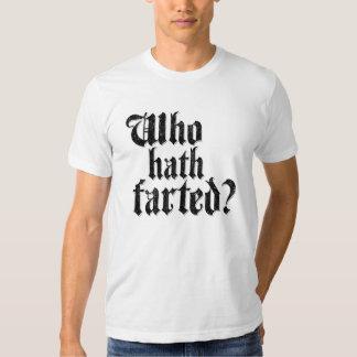 ¿Quién Hath Farted? Polera