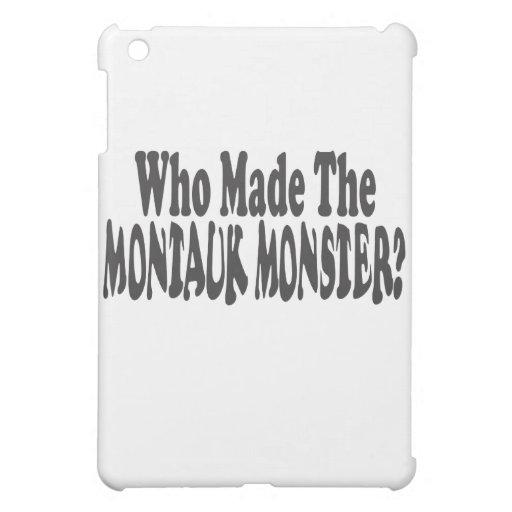 ¿Quién hizo al monstruo de Montauk? - Dos líneas