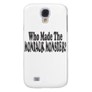 ¿Quién hizo al monstruo de Montauk? - Dos líneas Funda Para Galaxy S4