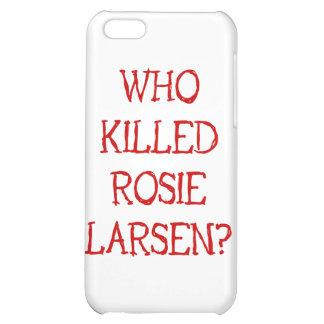 ¿Quién mató a Rosie Larsen?