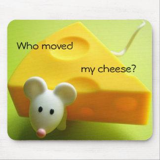 Quién movió mi queso mousepads