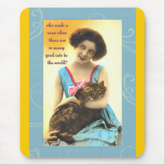 quién necesita a un hombre tan muchos buenos gatos tapetes de raton