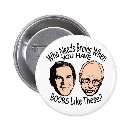 Quién necesita el botón de los cerebros pins