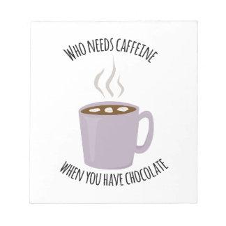 Quién necesita el cafeína bloc