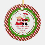 Quién necesita Santa. Abuelo de Nonna y de Nonno Adorno