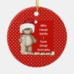 Quién necesita Santa. Gran ornamento del navidad d Ornamentos De Reyes Magos