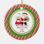 Quién necesita Santa. Navidad del abuelo de Oma y  Adorno