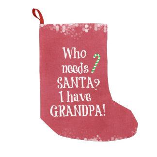 ¿Quién necesita Santa? Tengo navidad del abuelo
