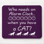 Quién necesita un despertador… alfombrillas de ratones