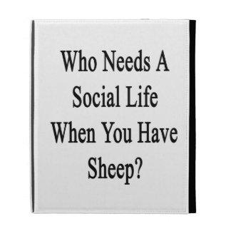 Quién necesita una vida social en que usted tiene