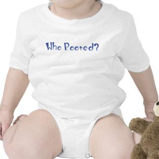 ¿Quién Pooted? Camisetas