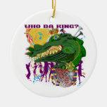 ¿Quién rey de DA? Tiro de encargo de Luisiana Adorno De Reyes