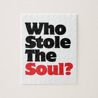 ¿Quién robó el alma? Puzzle