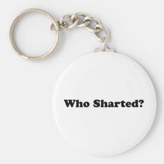 ¿Quién Sharted? Llaveros