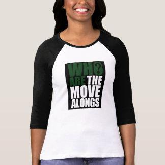 Quién son el movimiento Alongs 3/4 camisa de las