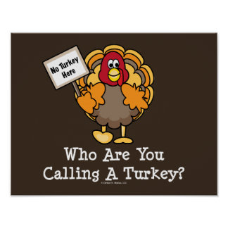 Quién son usted que llama un poster de Turquía