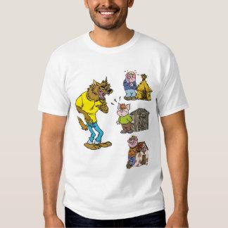 ¿Quién teme el lobo grande del matón? Camiseta de Playeras